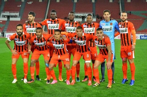 كأس الكاف.. نهضة بركان يفوز على النادي الإفريقي التونسي