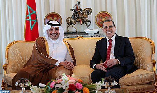 رئيس وزراء قطر يحل بالرباط.. وقمة جديدة تعزز علاقات البلدين