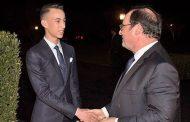 الملك يقيم مأدبة عشاء على شرف هولاند ترأسها الأمير مولاي الحسن