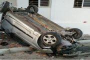 طنجة.. سيارة تصطدم بجدار منزل ونجاة السائقة