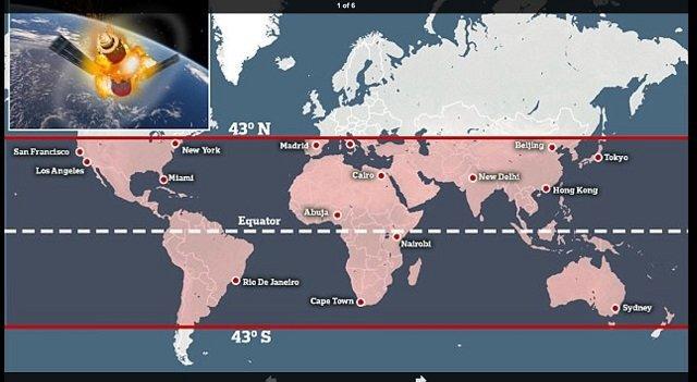 الأرض تنتظر سقوط محطة فضاء صينية محملة بمواد كيماوية سامة