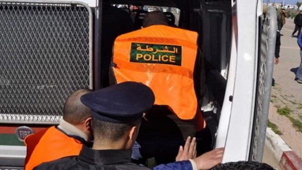 أمن البيضاء يعتقل