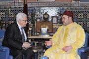 محمود عباس يشيد بدعم الملك للقضية الفلسطينية