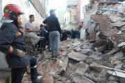 البيضاء.. انهيار 5 منازل كانت آيلة للسقوط بالمدينة القديمة