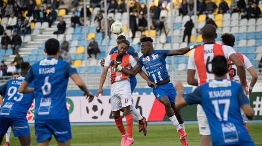 الدوري المغربي...قمة ملعب أدرار انتهت بـ