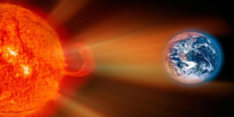 الأرض عرضة لعاصفة شمسية ضخمة!!