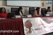 بالفيديو.. مشاركات في اليوم الدراسي حول الحماية القانونية للمرأة من العنف والتحرش