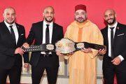 الملك محمد السادس يستقبل الإخوان زعيتر أبطال فنون الحرب المختلطة