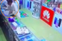 بالفيديو .. نهاية غير سعيدة للصوص حاولوا سرقة متجر هواتف