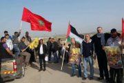 أسرة مغربية تحبط مناورات البوليساريو في مسيرة العودة بغزة