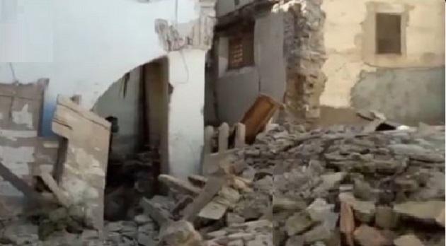 انهيار فندق يتسبب في تشريد أسر صناع تقليديين بمراكش - مشاهد 24
