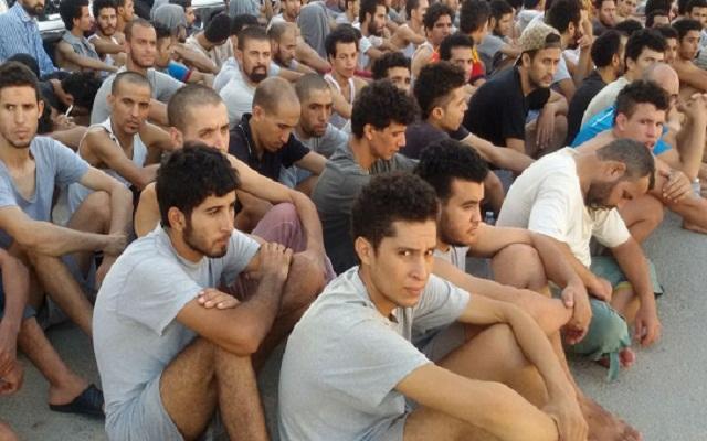 محتجزون مغاربة بليبيا يعودون للوطن على نفقتهم الخاصة