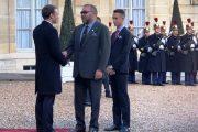 الملك يلتقي إيمانويل ماكرون في قصر