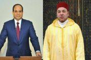 الملك يهنئ السيسي بمناسبة إعادة انتخابه رئيسا لمصر