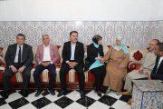 وفد برلماني تركي يزور عائلة مغربي قتل في انقلاب تركيا