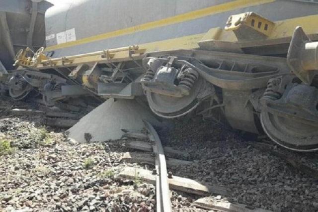 انقلاب قطار محمل بالفوسفاط يخلف خسائر مادية جسيمة
