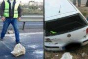 خطير.. حجر طائش يقتل سيدة بالطريق السيار والمواطنون يستنكرون صمت السلطات