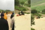 جرار ينقذ 5 أشخاص من موت محقق في فيضان واد نواحي تازة
