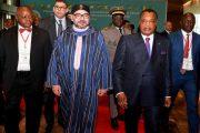 الملك والرئيس الكونغولي يترأسان التوقيع على عدة اتفاقيات تعاون