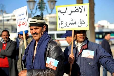 نقابيون ''يتجاهلون'' حوار العثماني وينتفضون ضد قانون الإضراب