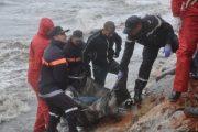 انتشال جثت مهاجرين قرب شواطئ الحسيمة إحداها علقت بشباك الصيد