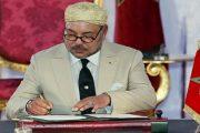 الملك محمد السادس يهنئ العائلة الملكية البريطانية على
