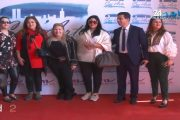 بالفيديو.. نجوم مصر والمغرب يفتتحون معرض الجمال بالدارالبيضاء