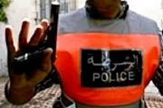 بركان.. رصاصة شرطي تصيب عنصر شبكة تسرق الفيلات