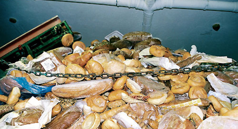 العالم يلقي 1300 مليون طن من الغذاء في القمامة سنويا !