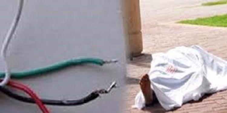 """في أول أيام رمضان.. وفاة مساعد تاجر """"بصعقة كهربائية"""""""