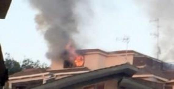 بالصور.. مغربية تقتل ابنتها ذبحا تضرم النار في بيتها و تنتحر من شفة الطابق الرابع !