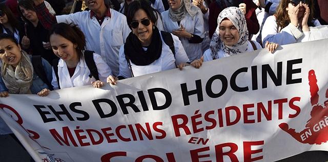 الجزائر.. الأطباء يطالبون بحل مستعجل لوقف إضرابهم المستمر منذ 7 أشهر