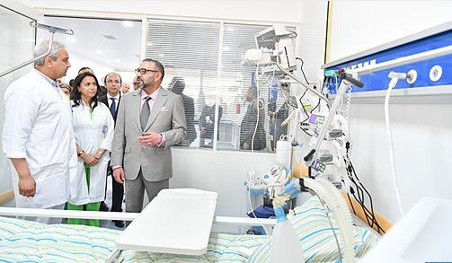 الملك يدشن المستشفى الإقليمي