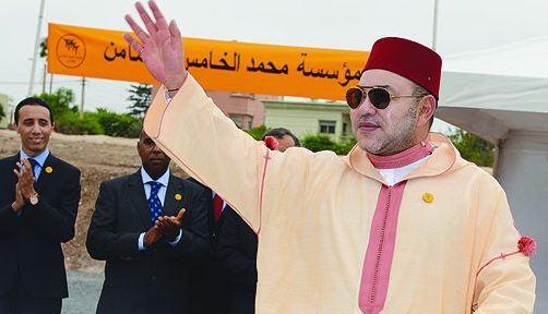 الملك يعطي بسلا انطلاقة العملية الوطنية للدعم الغذائي