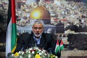 العثماني يتدارس مع هنية تطورات القضية الفلسطينية