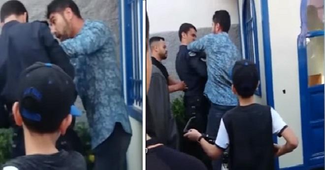 طنجة.. رجل أمن يعتقل شخصا بسبب خلاف حول تأدية الصلاة في الشارع