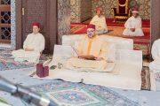 الملك يترأس الدرس الثاني من سلسلة الدروس الحسنية الرمضانية