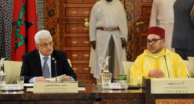 الملك يدين نقل سفارة واشنطن إلى القدس