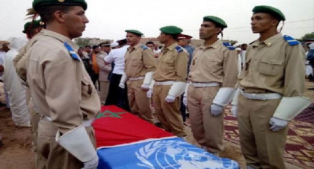 غوتيريس يعزي في وفاة جندي مغربي من قوات