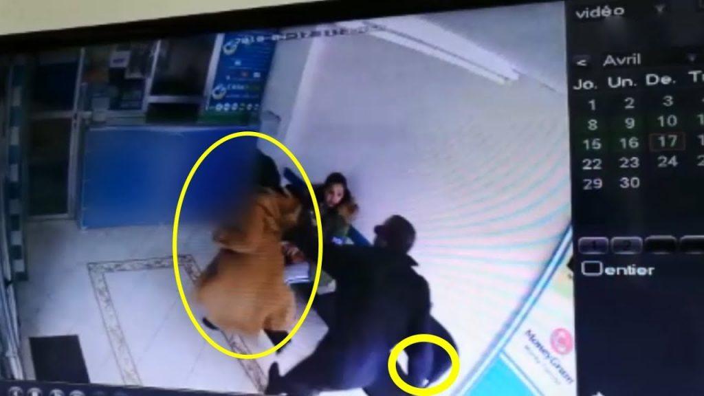 بالفيديو.. الأمن يعتقل مبحوثا عنه حاول ذبح طليقته داخل وكالة لتحويل الأموال