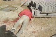 سقوط عامل بناء من صومعة مسجد في طور التشييد