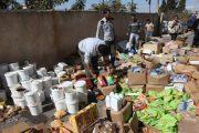 حجز وإتلاف 8 طن و370 كلغ من المواد الغذائية الفاسدة خلال رمضان