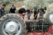 بني ملال.. مصرع شخص وإصابة 3 آخرين إثر انقلاب جرار بواد درنة