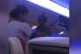 بالفيديو.. متسول داخل طائرة ركاب قطرية !!