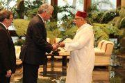 سفير المغرب بكوبا يسلم أوراق اعتماده للرئيس ميغيل دياز كانيل