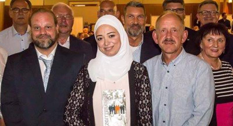 لاجئة سوريّة تفوز بجائزة أفضل السكان في مدينة ألمانية