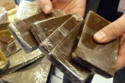 حجز 1180 كيلوغراما من مخدر الشيرا بواد لاو من طرف البحرية الملكية