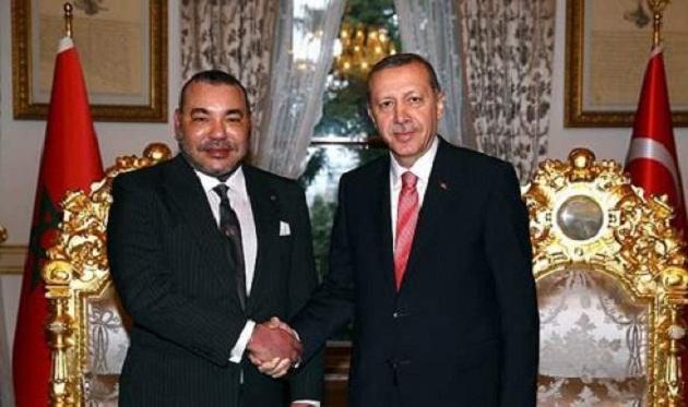الملك يهنئ أردوغان بمناسبة إعادة انتخابه رئيسا لتركيا