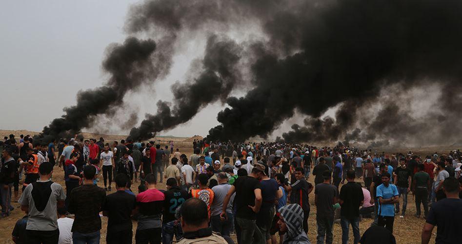 غزة.. 4 قتلى و525 مصابا بالرصاص الحي والغاز الإسرائيلي