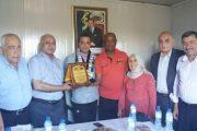 تكريم البعثة الطبية العسكرية المغربية بغزة